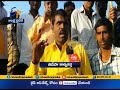 TDP Activist walks 8 kms on knees at Anantapur