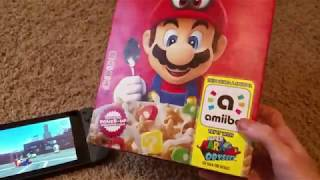 Super Mario Cereal amiibo - What does it do?