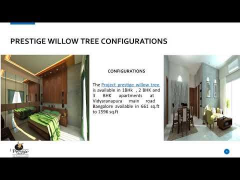 Prestige Willow Tree Available in 1 2 and 3 BHK at Vidyaranapura