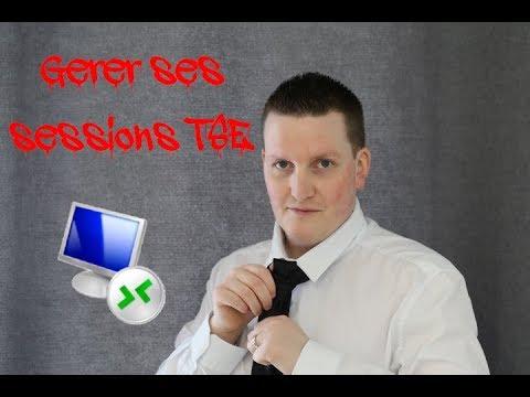 Gérer ses sessions TSE