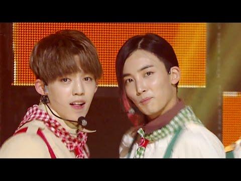 《EXCITING》 SEVENTEEN (세븐틴) - VERY NICE (아주 NICE) @인기가요 Inkigayo 20160724