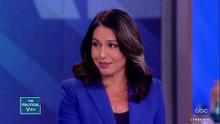 "Rep. Tulsi Gabbard says Trump is ""inciting Racism"" 