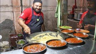 MASTER OF EGG MUGHLAI - Huge Butter अंडा मोघलाई Making   Ramadan Street Food India
