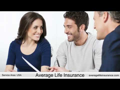 Average life insurance prices for Male & Female
