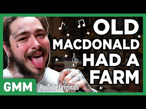 Post Malone Nursery Rhyme Raps