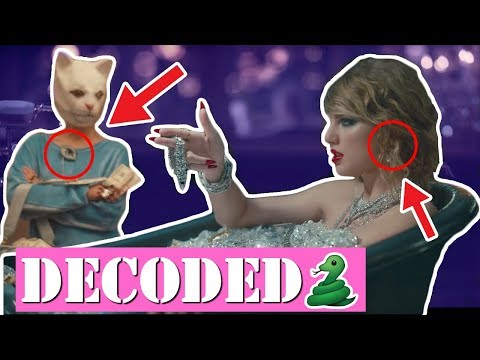 Clues That You Missed in Taylor Swift's Look What You Made Me Do Music Video
