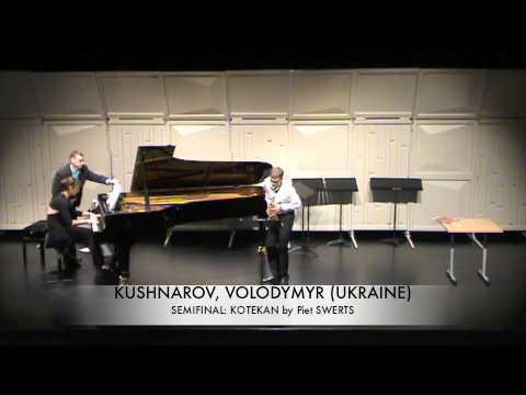 KUSHNAROV, VOLODYMYR (UKRAINE) kotekan Piet SWERTS