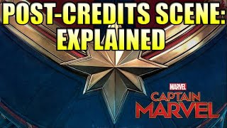 Captain Marvel Post Credit Scenes Explained