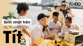 [Tập 8] Lần đầu tiên | Đỗ Mạnh Cường tổ chức sinh nhật cho Tít trên Du Thuyền | SIXDO