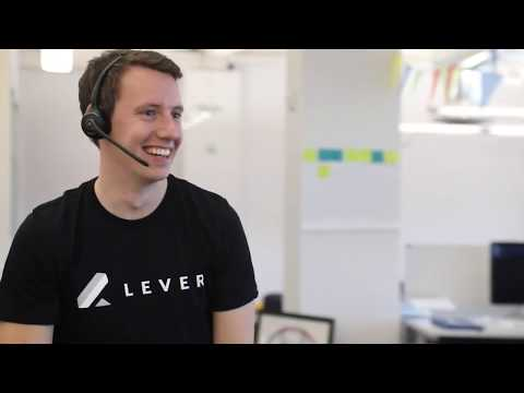 Recruiting software company Lever's video ad boosted their recruiting efforts on LinkedIn. The video received double the click-through rate of a similar static image recruiting ad.