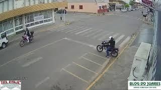 AO VIVO: Rua Bento Gonçalves, Centro, Camaquã (RS).