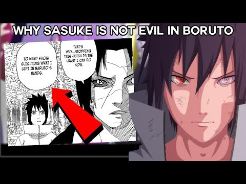 The real REASON Sasuke Decided Not To Be EVIL & Destroy Konoha - Boruto & Naruto