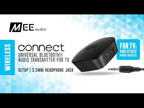 MEE audio Connect 3.5mm Headphone Jack Setup Guide