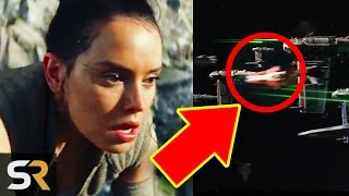 8 Hidden Easter Eggs & SECRETS In Star Wars 8 The Last Jedi