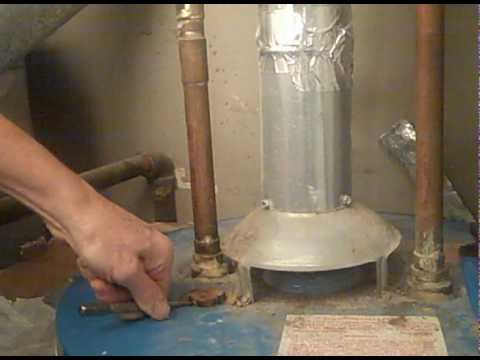 Do It Yourself Replacing Anode In A Water Heater Youtube