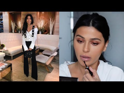 GET READY WITH ME // MAKEUP & OUTFIT GRWM | Teni Panosian