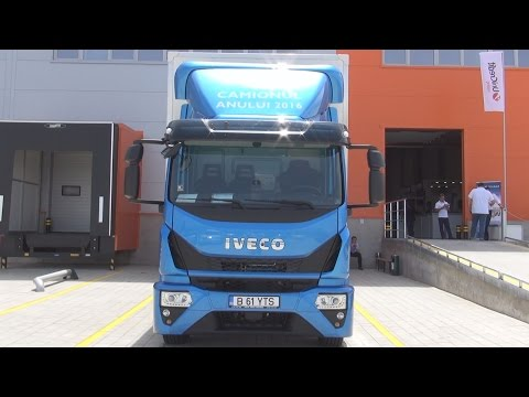 Iveco Eurocargo ML 160 E 25 E6 Lorry Truck (2016) Exterior and Interior in 3D