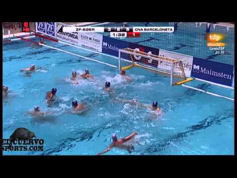 Eger 5 Barceloneta 11 Champions League 2014 4 12 13 water polo