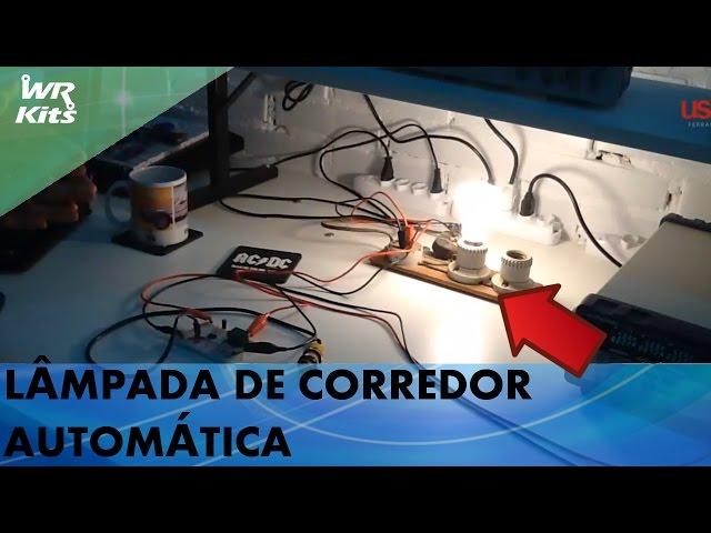 LÂMPADA DE CORREDOR AUTOMÁTICA