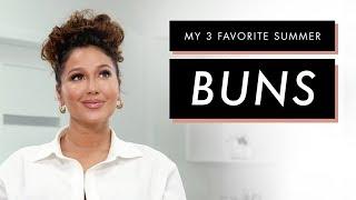 Adrienne Houghton's 3 Favorite Bun Hairstyles | All Things Adrienne