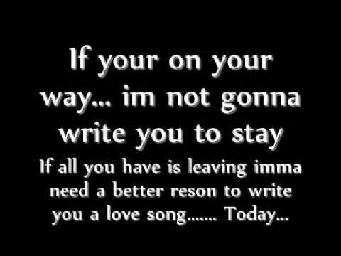 Sara Bareilles Love Song Lyrics - YouTube  Love