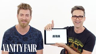 Rhett & Link Teach You Internet Slang | Vanity Fair