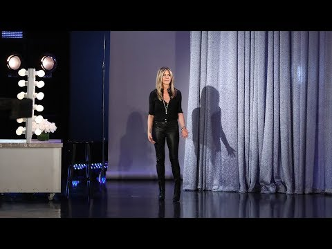 Jennifer Aniston Drops By to Wish Ellen a Happy Birthday in Person!