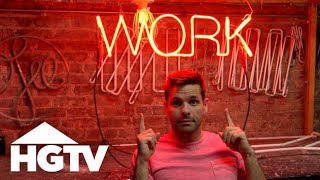 Let It Glow: How to Make a Neon Sign - See J Work - HGTV