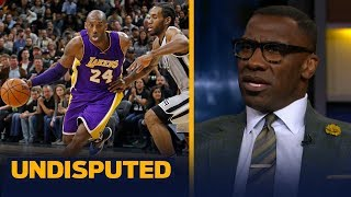 Kobe, not Kawhi Leonard, is the closest thing to Michael Jordan — Shannon Sharpe | NBA | UNDISPUTED