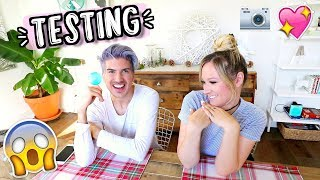 Joey Graceffa and I Test Out Crazy Things!! Vlogmas Day 12!!