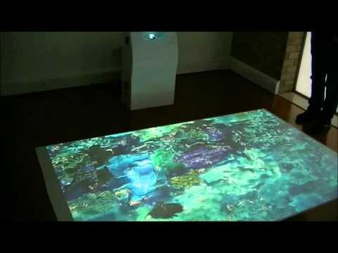 AdVis Lite - Portable Interactive Projection Unit