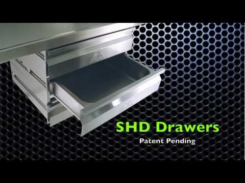 SHD Drawers by Advance Tabco (Patent Pending)