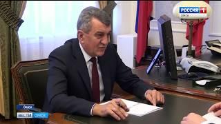 В Омске с рабочим визитом сегодня находится Сергей Меняйло