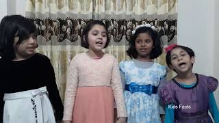 Four little baby girls. Just awesome! Rum Jhum Jhum Jhum. রুম ঝুম ঝুম ঝুম রুম ঝুম ঝুম।