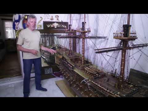 Γιάννης Μπουνταλάς. Ταξίδι με το Victory, τη ναυαρχίδα του Νέλσονα