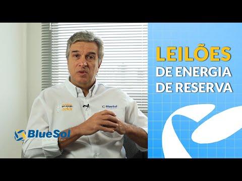 Leilões de Energia de Reserva de Fonte Solar