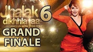Madhuri Dixit's Aerial Act in JHALAK DIKHLA JAA 6 Grand Finale 14th September 2013