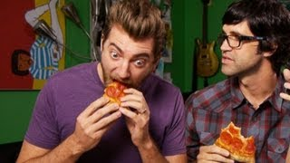 Eating a Pizza in Less Than 60 Seconds