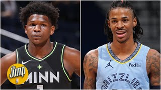 ️ ⭐️ Anthony Edwards & Ja Morant could not be stopped last night ⭐️ | The Jump