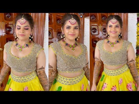 Actress Vidyullekha Raman shares Mehendi function video, looks gorgeous