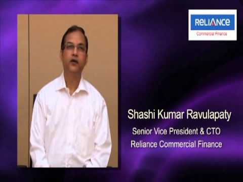 Listen to Shashi kumar Ravulapaty, CTO, Reliance Commercial Finance, talks about Sanovi DRM Software