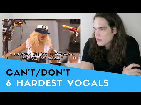 Voice Teacher Reacts to 6 HARDEST Vocals Singers CAN'T/DON'T Sing ANYMORE