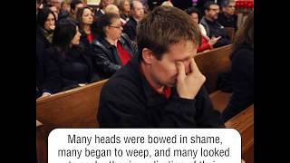 A homeless man walks into a church What he did next shocked everyone    Life Reminder    SomTom