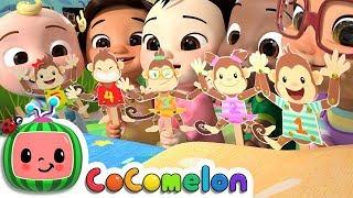 Five Little Monkeys | CoCoMelon Nursery Rhymes & Kids Songs