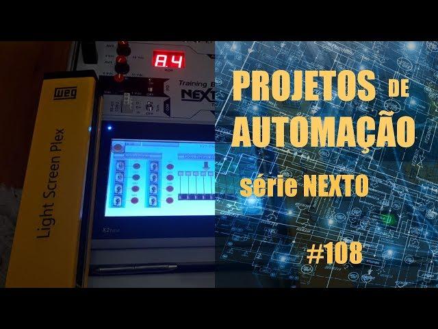 PRENSA COM CONTROLE BIMANUAL (ESQUEMA) | Projetos de Automação #108