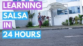 American Tries To Learn Salsa Dancing In 24 Hours