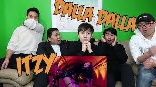 ITZY - DALLA DALLA MV REACTION (FUNNY FANBOYS)