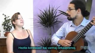 Video iqpMplLANpI: [1015] Mi ne revenos plu - Jany Quiñones kaj Lino Markov #muziko