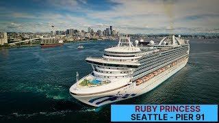 2019 Epic Departure - Ruby Princess Alaska Cruise - Port of Seattle - Pier 91