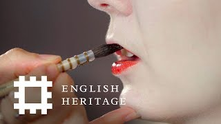 History Inspired Makeup Tutorial - Elizabeth I | Feat. Amber Butchart and Rebecca Butterworth